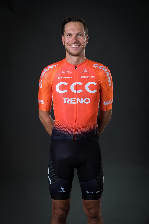 CCC Team unveil new kit for debut WorldTour season