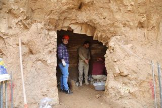 The tomb was accidentally discovered recently during a construction project in Erbil and is currently being excavated by an archaeological team.