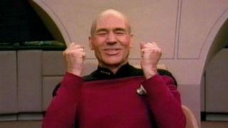 Patrick Stewart as Jean-Luc Picard in Star Trek: The Next Generation