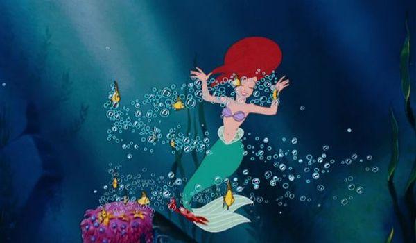 Ariel dancing