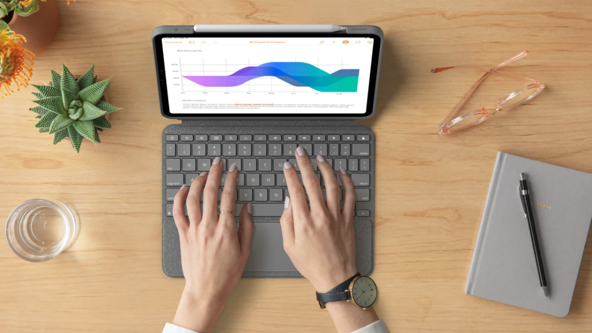 Forget iPad Pro Magic Keyboard — Logitech just launched a cheaper alternative - Tom's Guide