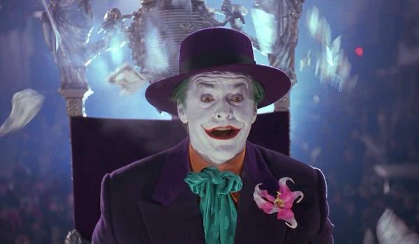 Jack Nicholson as The Joker in the 1989 Batman movie