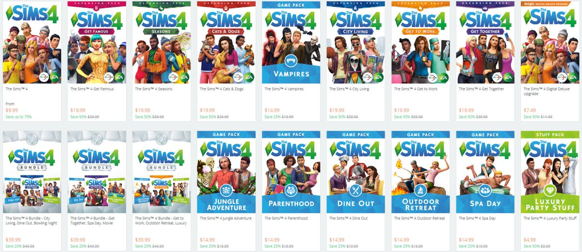 The Sims 4 Anniversary Sale is live, get the base game and