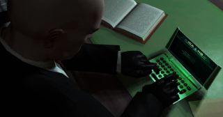 Agent 47 on a tiny computer