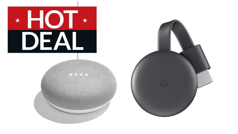 Free Google Chromecast with Google Home Mini