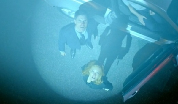 the x files season 10 finale miller scully spaceship