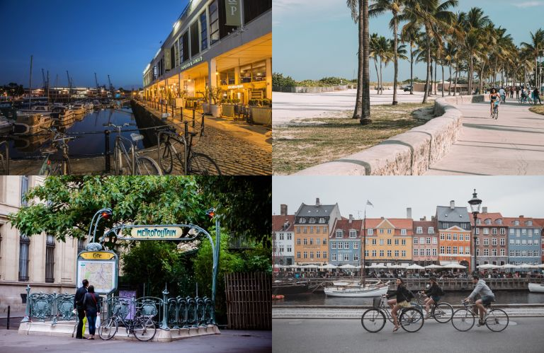 Global cycling cities