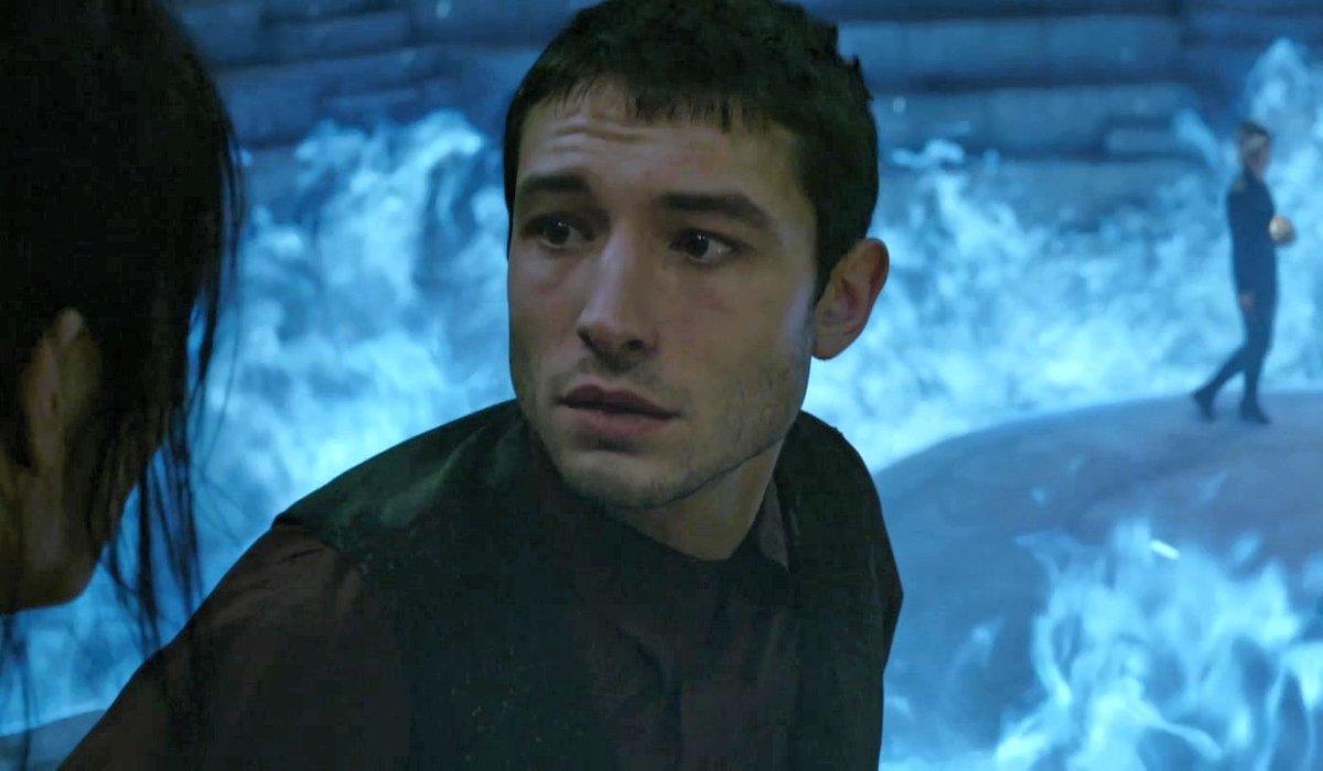 Ezra Miller as Credence Barebone in Fantastic Beasts 2