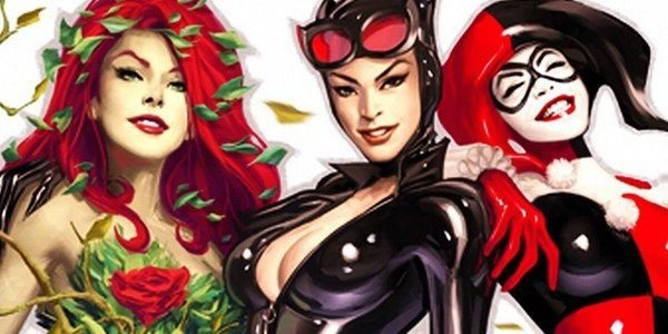 Gotham City Sirens Harley Quinn Catwoman poison Ivy