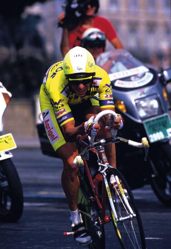 Greg LeMond Paris time trial 1989