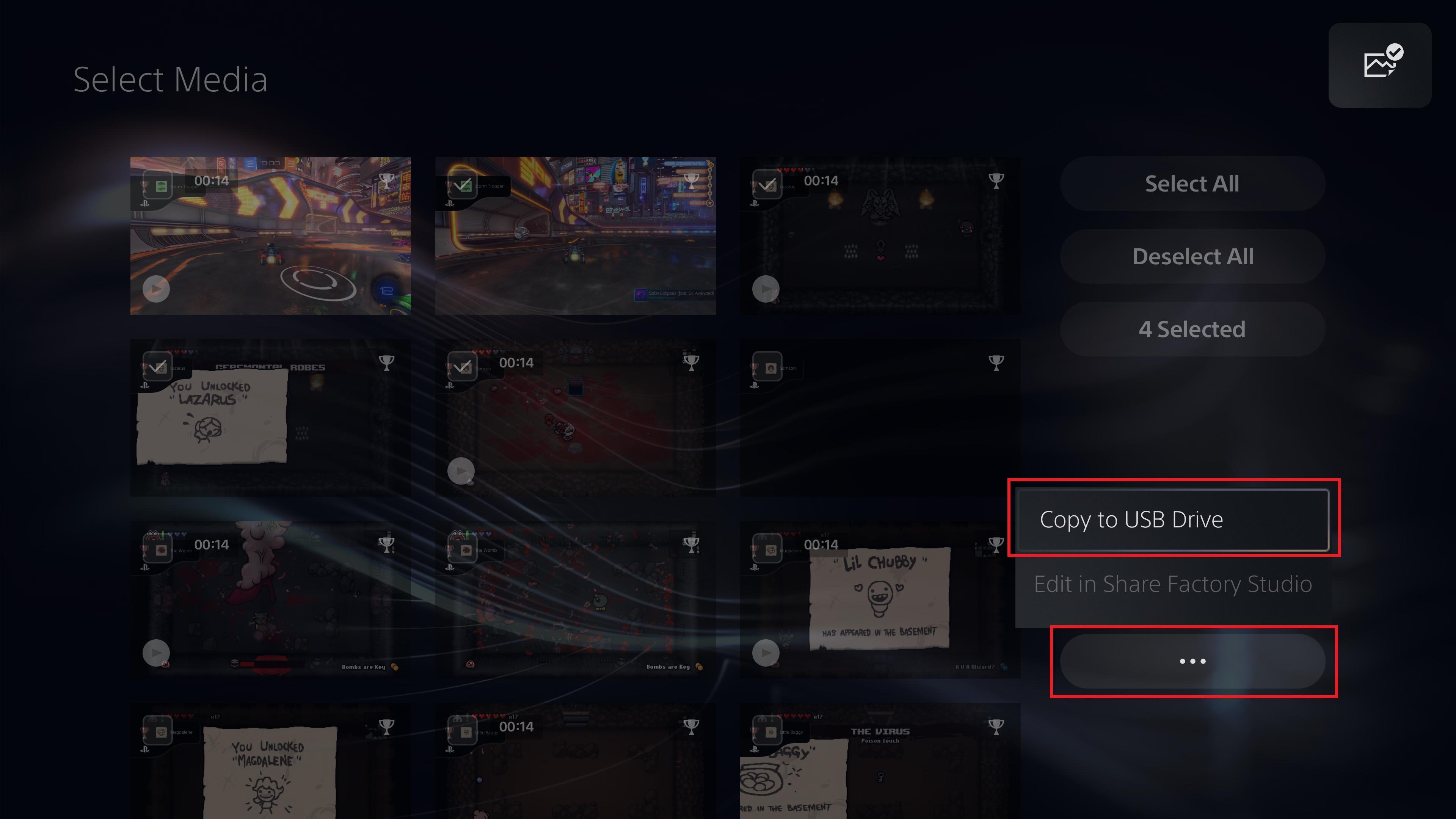 Come trasferire gli screenshot di PS5 su PC o telefono - Copia