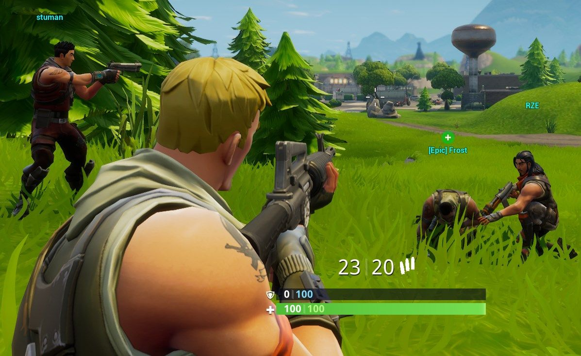 Fortnite S Controversial Battle Royale Mode Is Now Live Pc Gamer