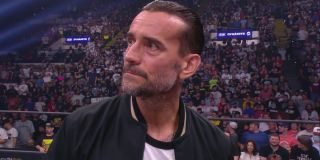 CM Punk in the ring on AEW Dynamite
