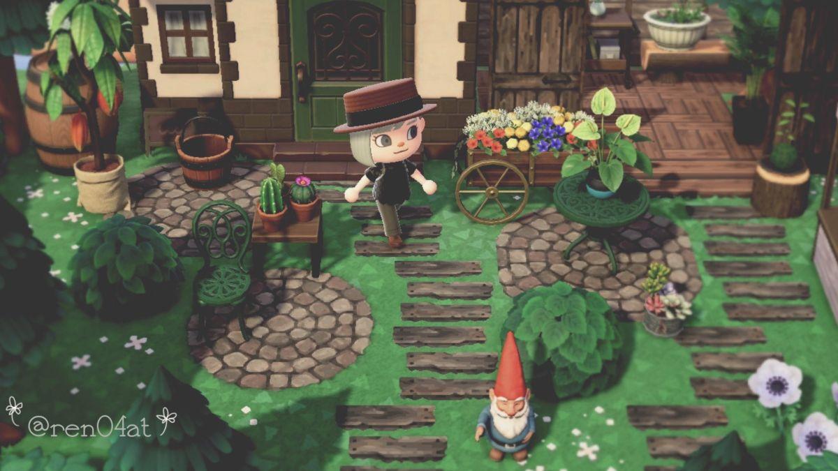 Animal Crossing: New Horizons Garden Critique | Real Homes