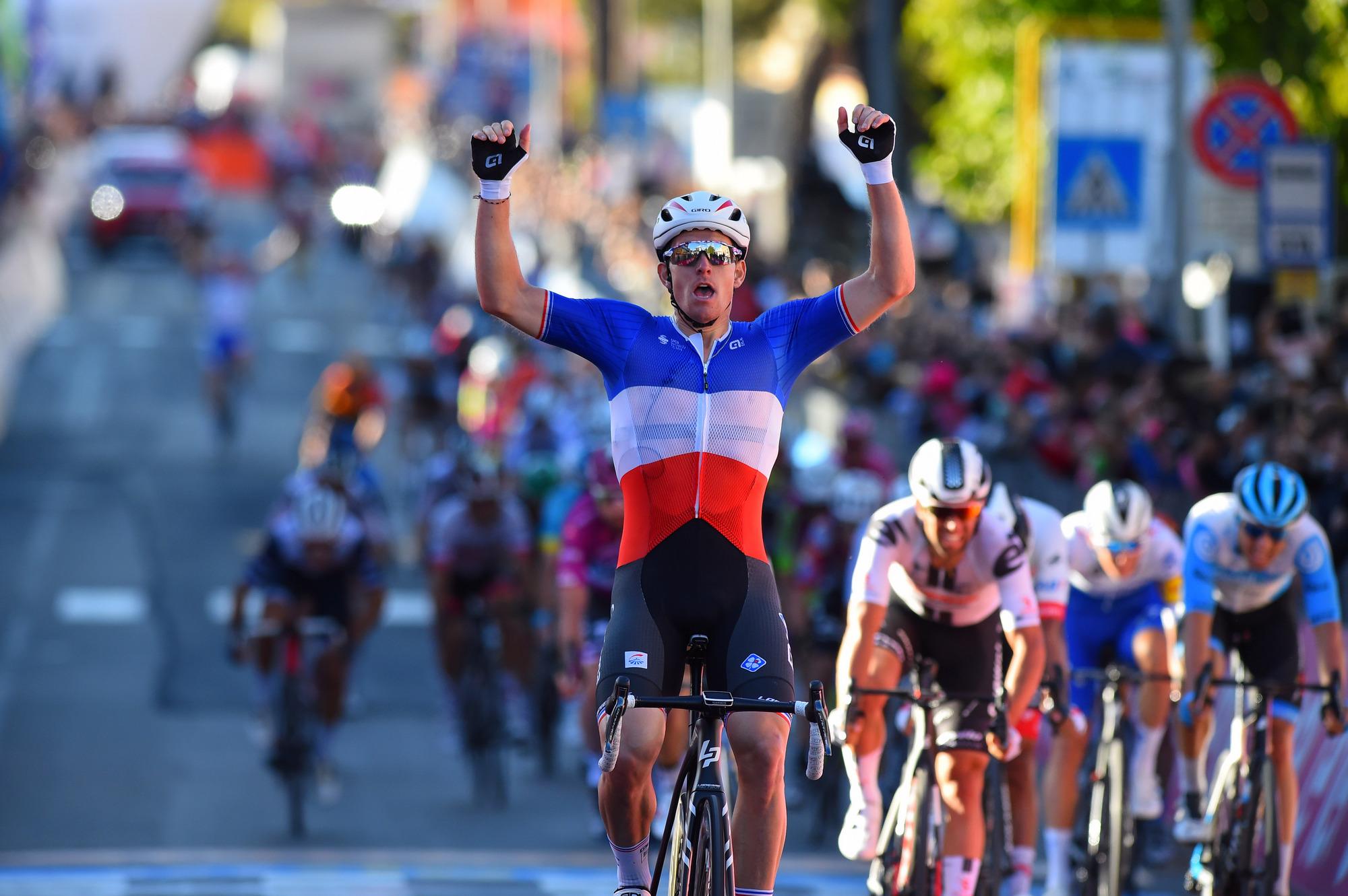 Giro dItalia 2020 103th Edition 6th stage Castrovillari Matera 188km 08102020 Arnaud Demare FRA Groupama FDJ photo Dario BelingheriBettiniPhoto2020