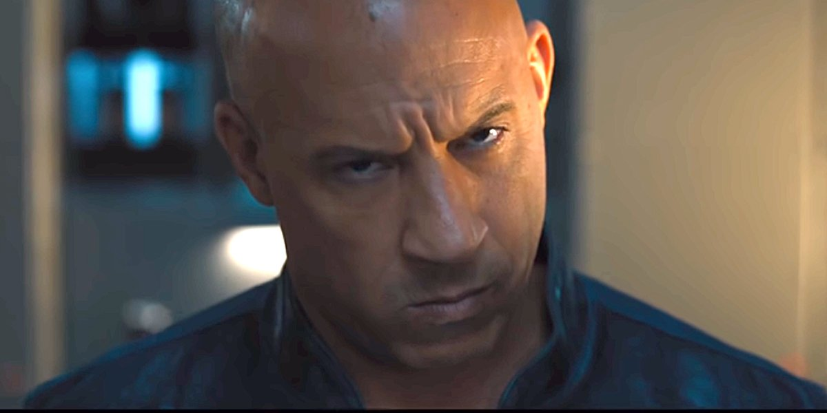 Vin Diesel as Dom Toretto in F9 trailer