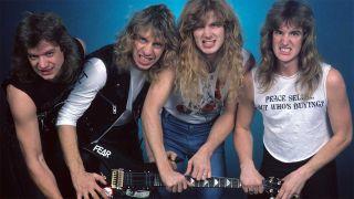 Megadeth in 1986
