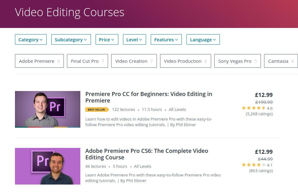 The best online video editing courses | Creative Bloq