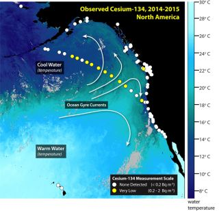 Fukushima radiation April 2015