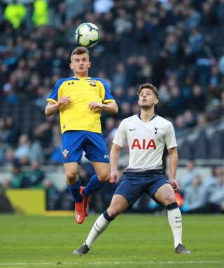 Tottenham Hotspur U18 v Southampton U18 – U18 Premier League – Test Event – Tottenham Hotspur Stadium