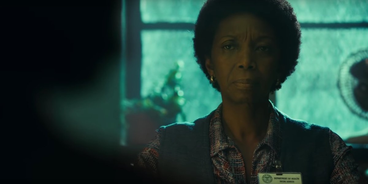Sharon Washington as Arthur Fleck's social worker Debra Kane in Joker