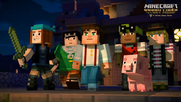 Minecraft: Story Mode characters