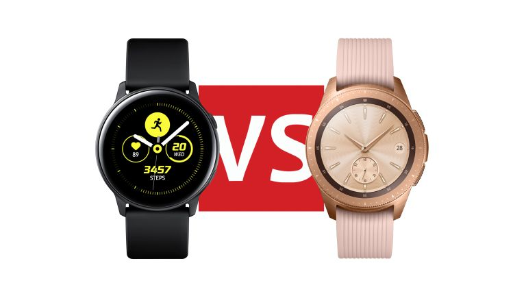 105a7ab69 Samsung Galaxy Watch Active vs Samsung Galaxy Watch: which should ...