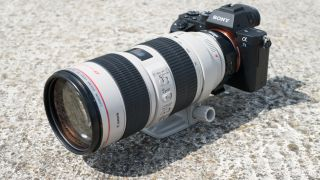 Sony A7S II and Canon lens