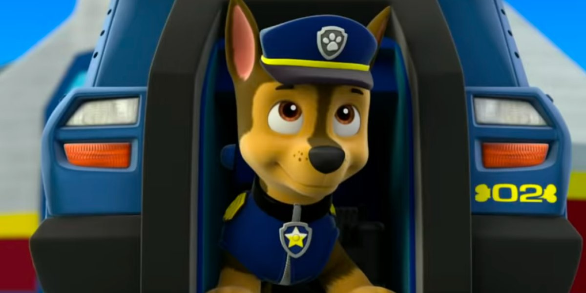 Chase on Paw Patrol