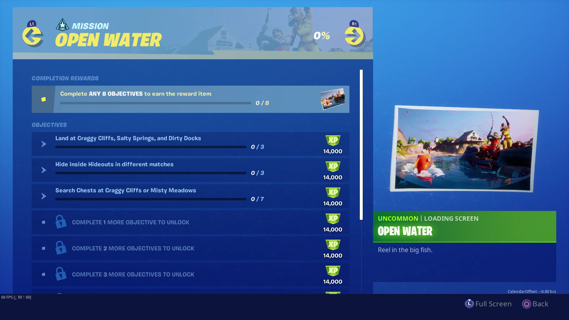 Fortnite Open Water Challenges How To Complete The Entire