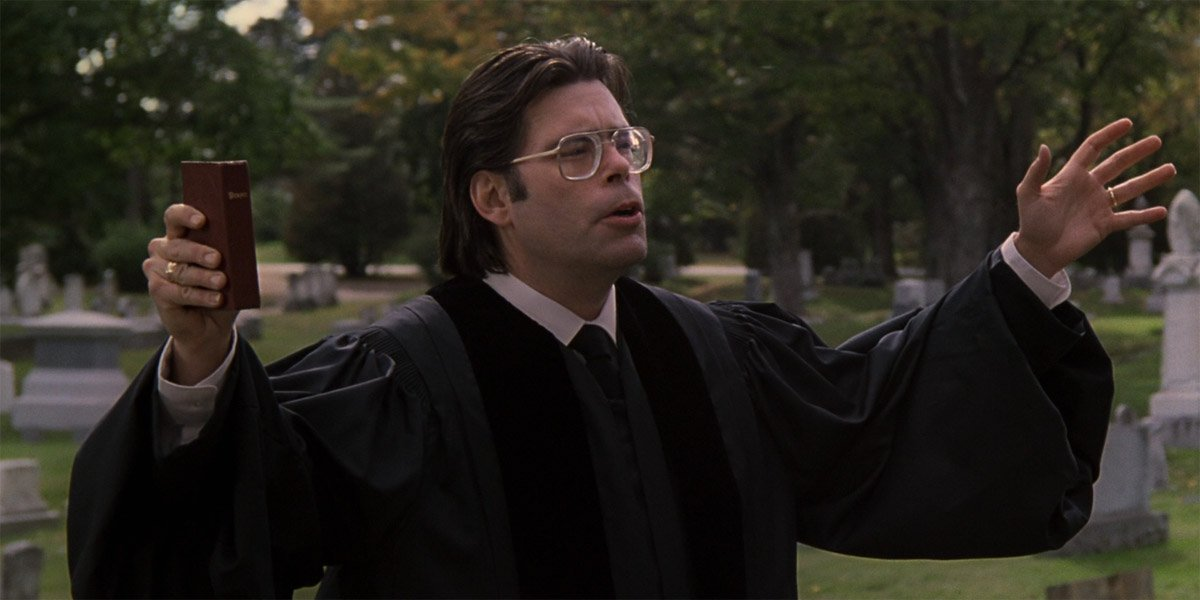 Stephen King in Pet Sematary