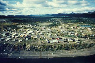 : Kaltag, Alaska, an Iditarod checkpoint