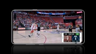 Samsung & NBA: history's first sports broadcast shot entirely on camera phones