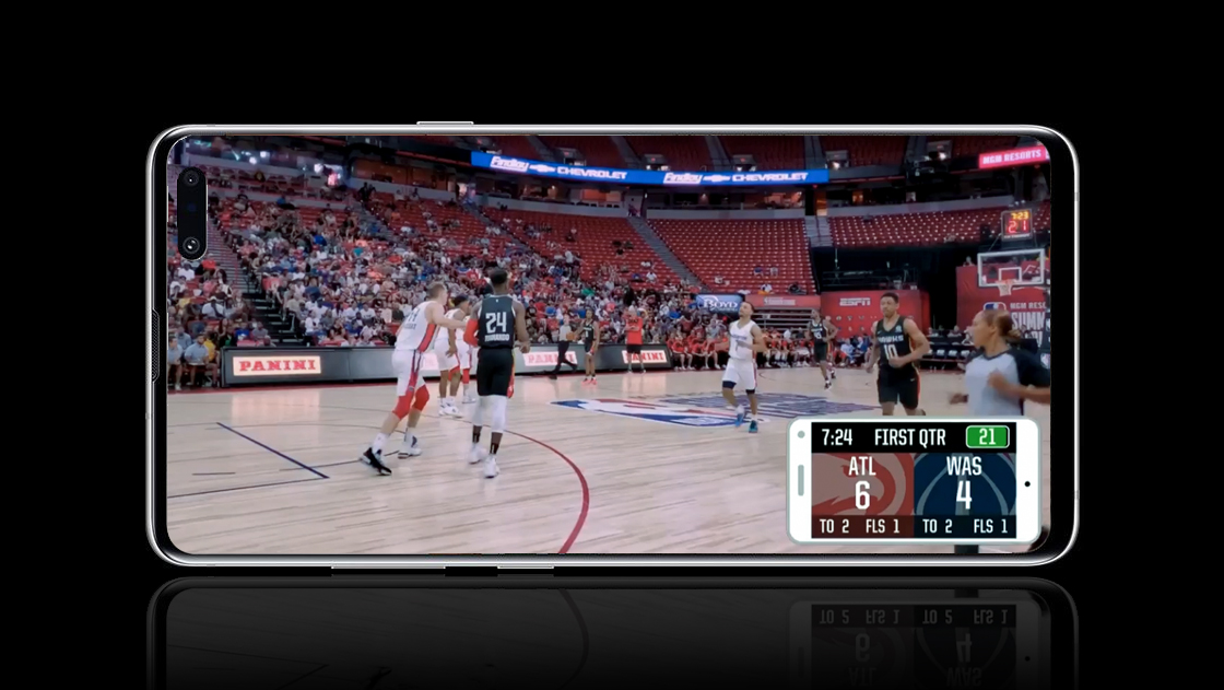 NBA airs first ever sports event shot on camera phones (Samsung Galaxy S10?) | Digital Camera World