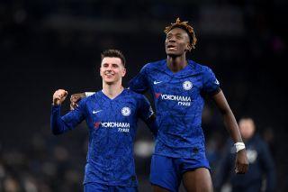 Chelsea midfielder Mason Mount and forward Tammy Abraham
