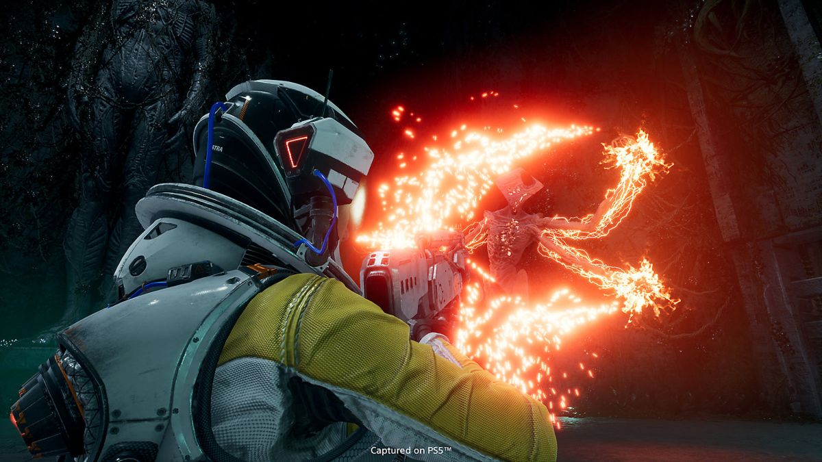 Save $20 on PS5 bullet-hell Returnal and get lost in an alien planet
