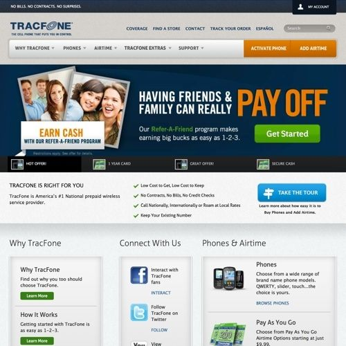 TracFone Prepaid Cell Phones Review - Pros and Cons | Top Ten Reviews
