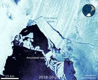 Pine Island Glacier 2018