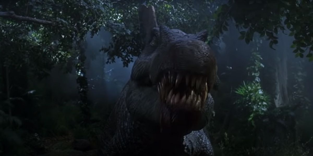 Jurassic Park III spinosaurus