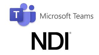 Microsoft Teams and NDI