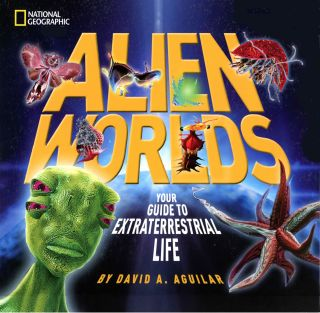 'Alien Worlds' Children's Book Cover
