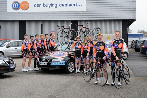 Motorpoint Marshalls Pasta team 2010