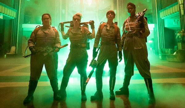 Rebooted Ghostbusters Team Ghostbusters