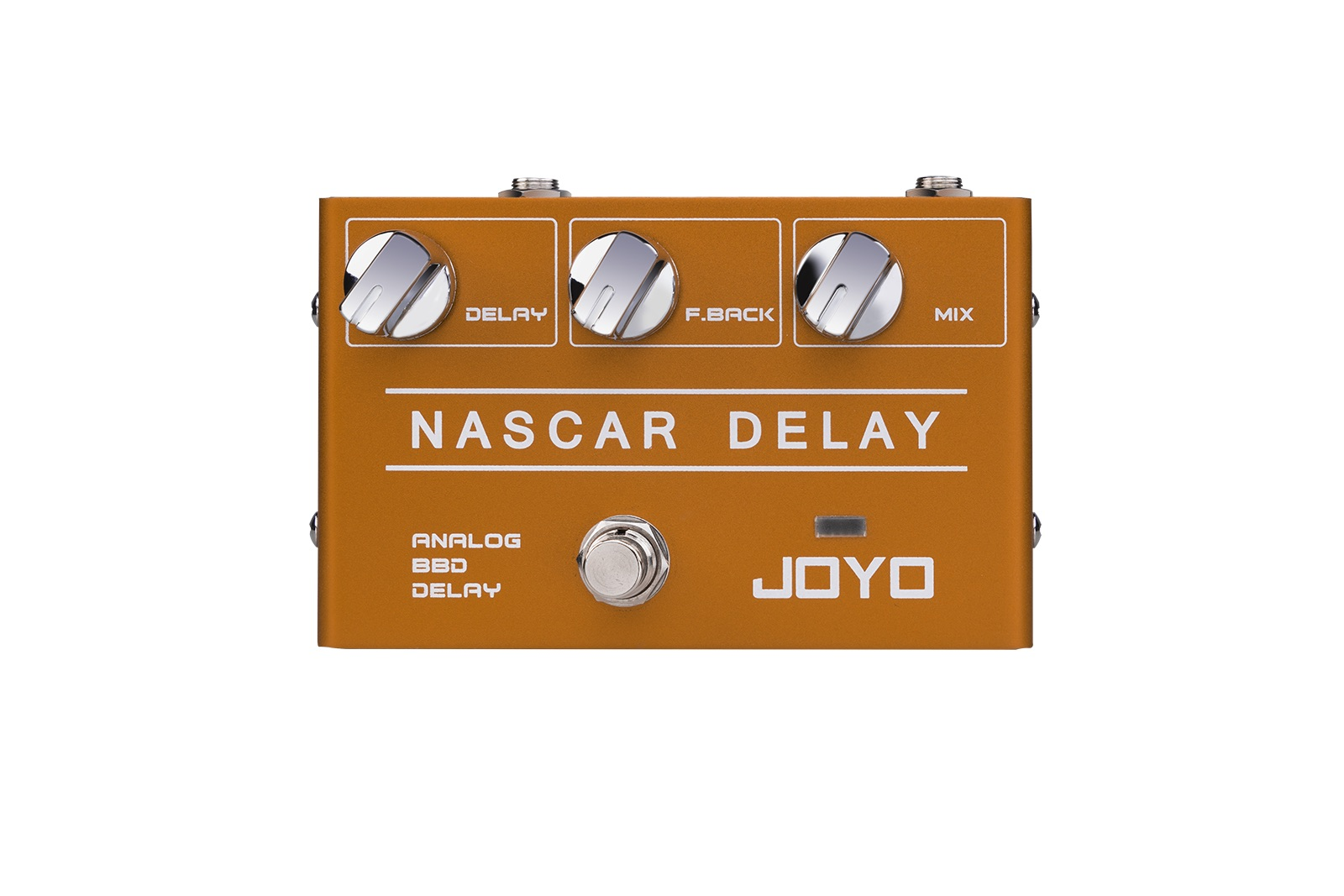 Put your pedal to the metal with Joyo's new Nascar Delay | Guitarworld