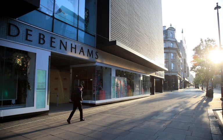 Which Debenhams stores are closing