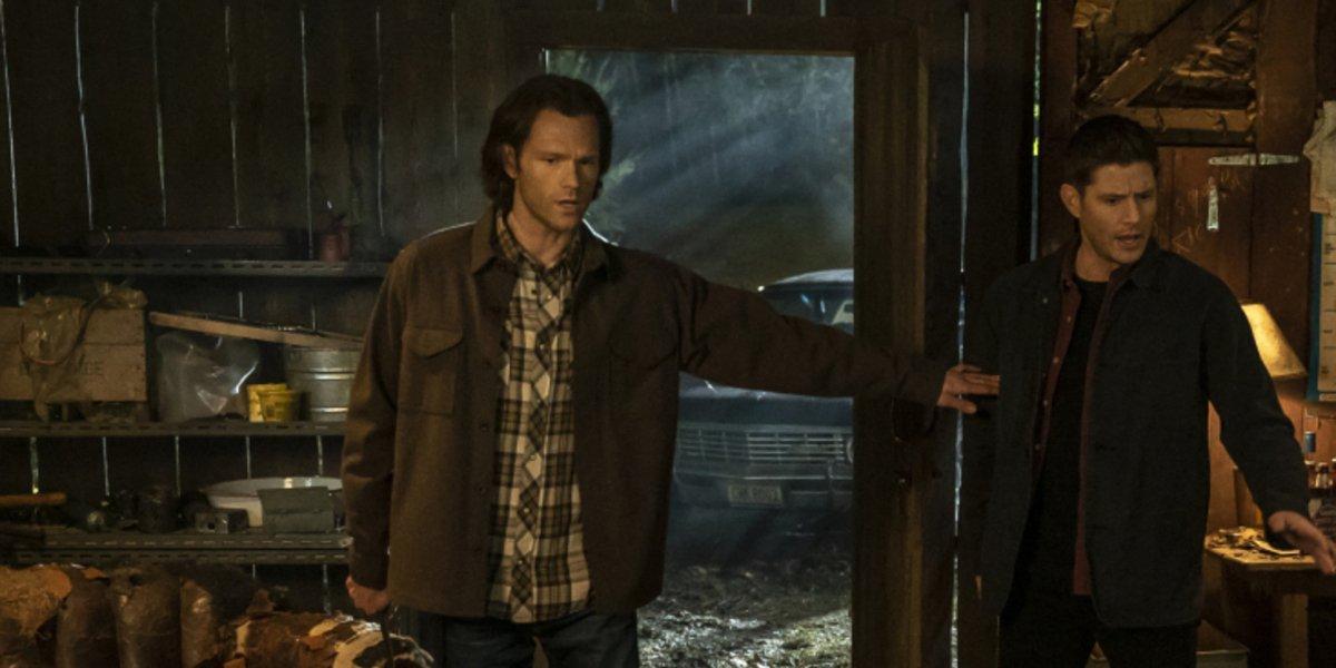 supernatural season 15 last holiday sam and dean the cw