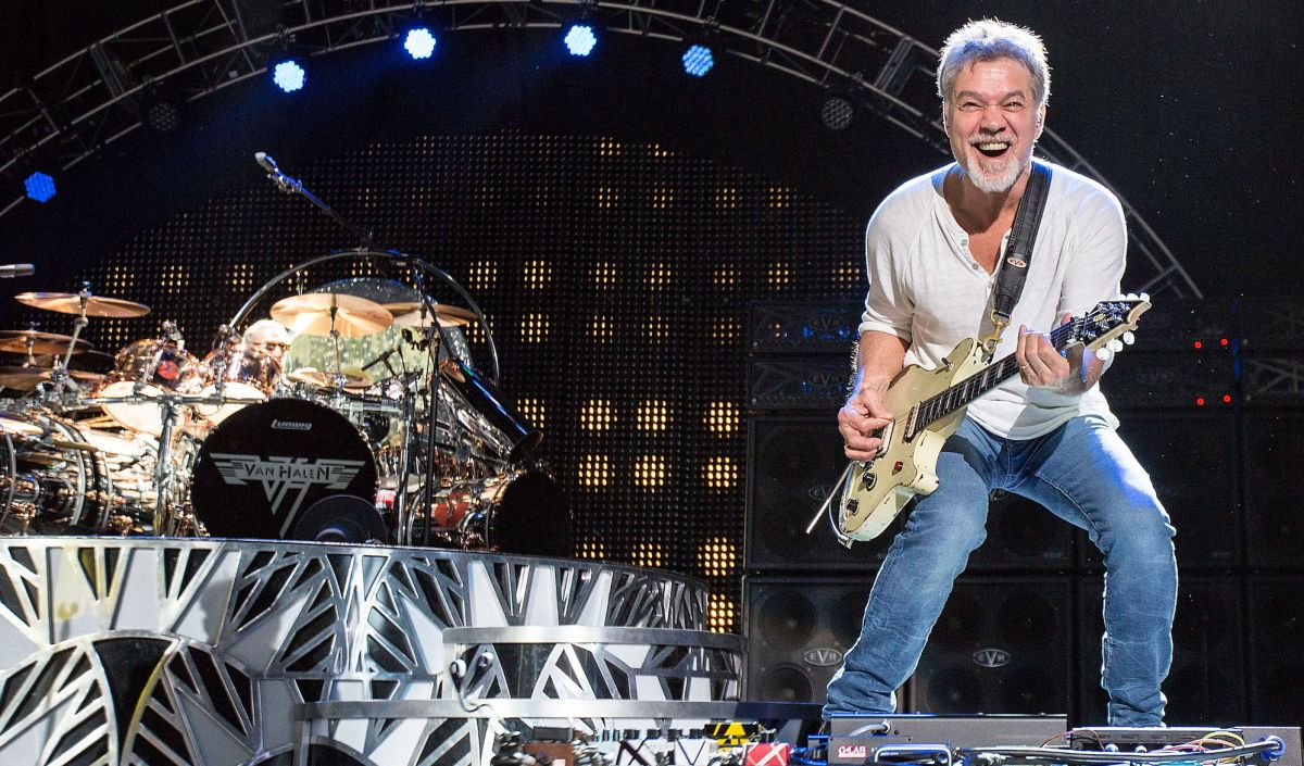 Eddie Van Halen Revisits Van Halen S Landmark 1984 Album Guitar World