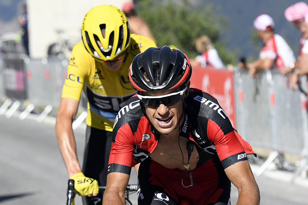 Bmc 39 we can win the tour de france with richie porte for Richie porte cyclist