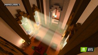 Minecraft con raytracing Nvidia RTX