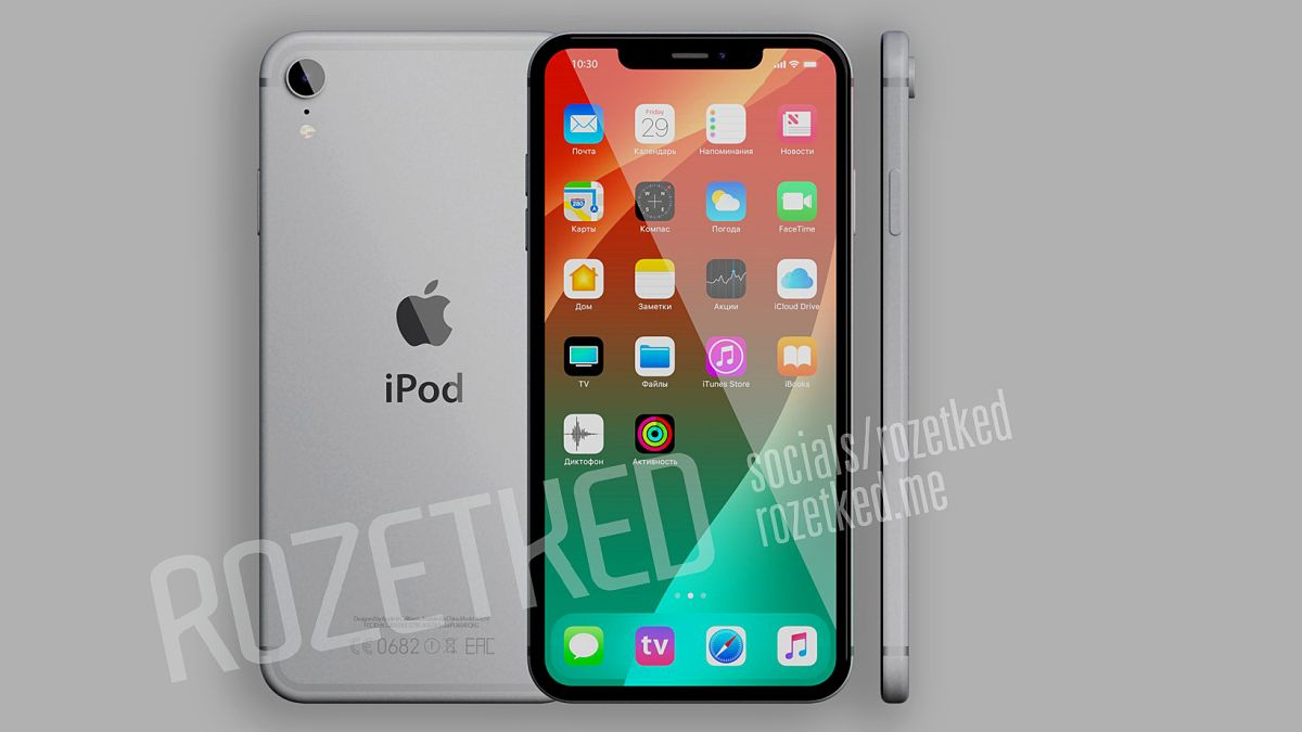 Auto Touch Up Paint >> iPod isn't dead after all: Apple will unleash an iPhone X-style redesign for iPod Touch | T3